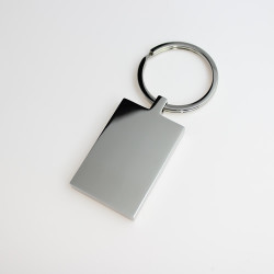 Square rounded key ring
